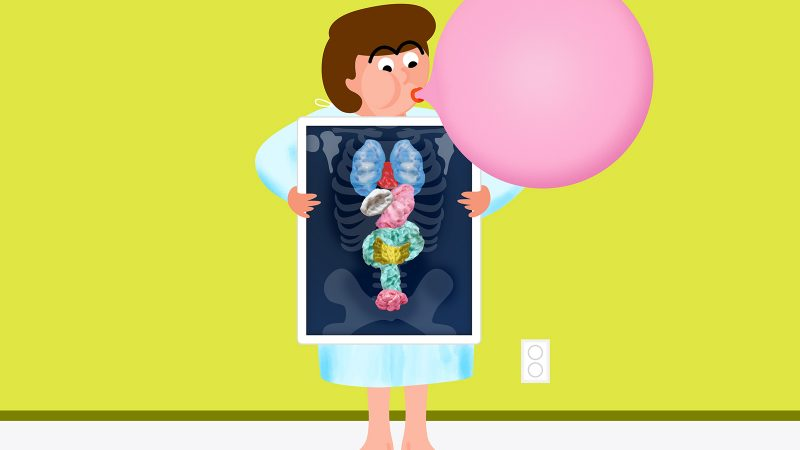 Hungry clipart stomach hurt.  ways chewing gum