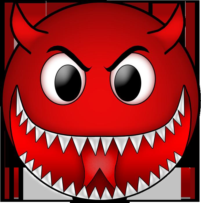 Clipart smile devil. Png image purepng free