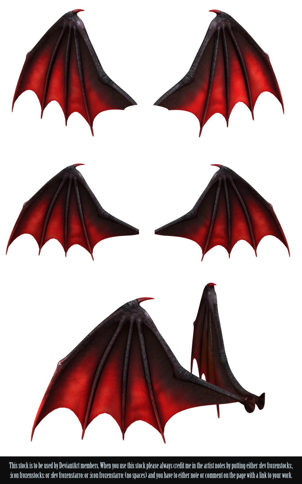 Devil wing pencil and. Demon clipart wings