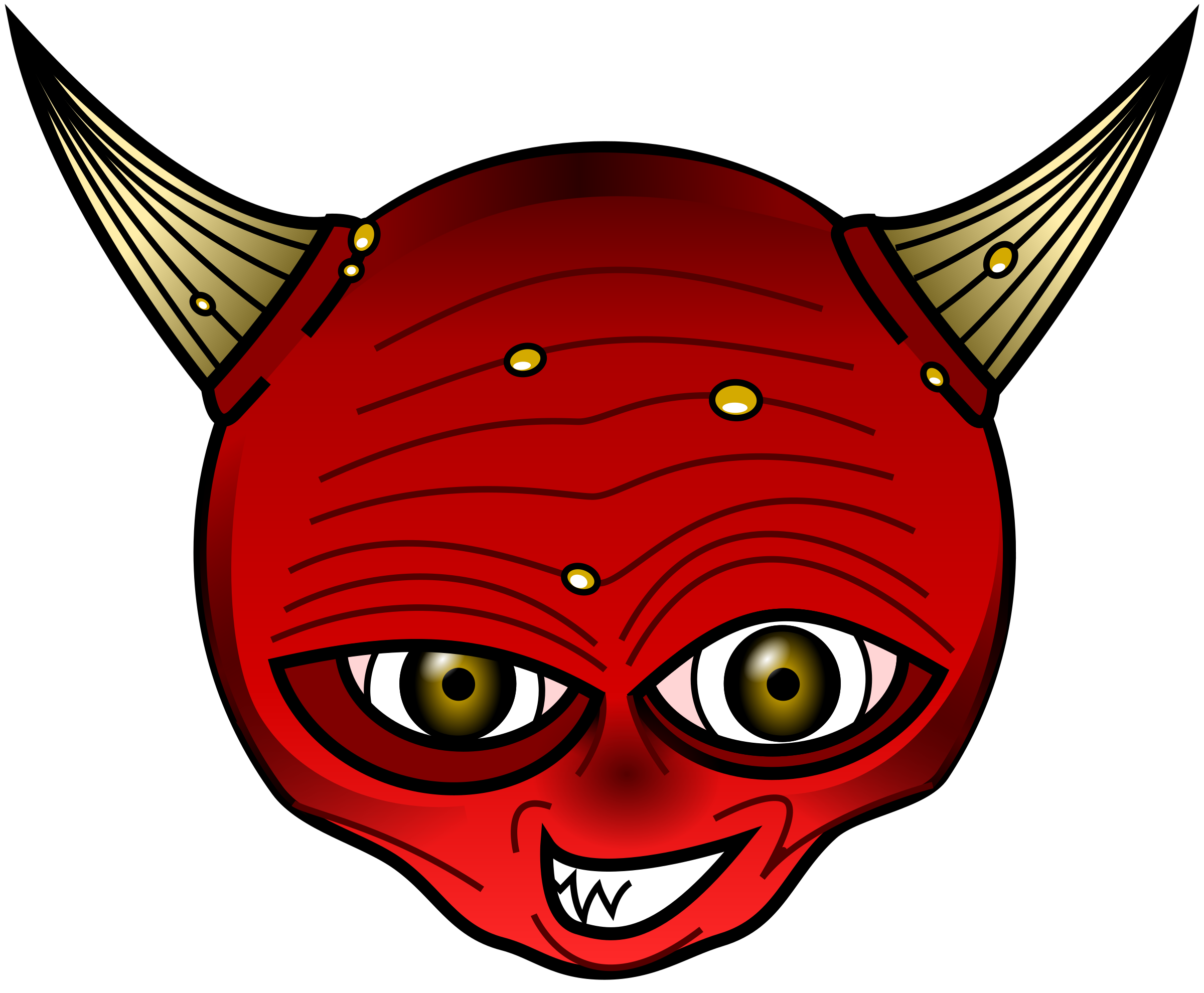 Red big image png. Devil clipart royalty free