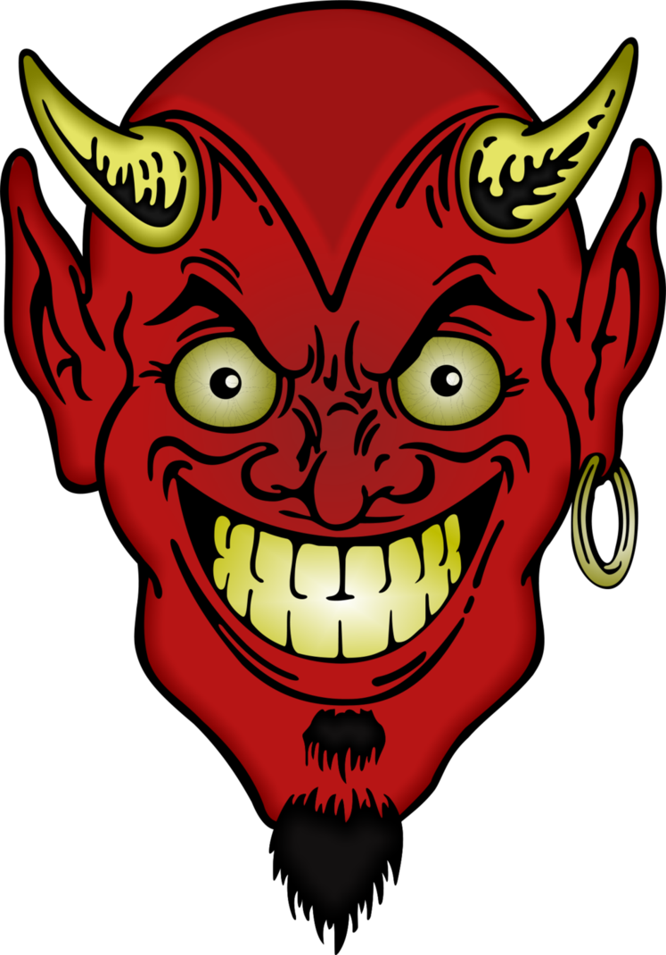 Devil png . Demon clipart satanic