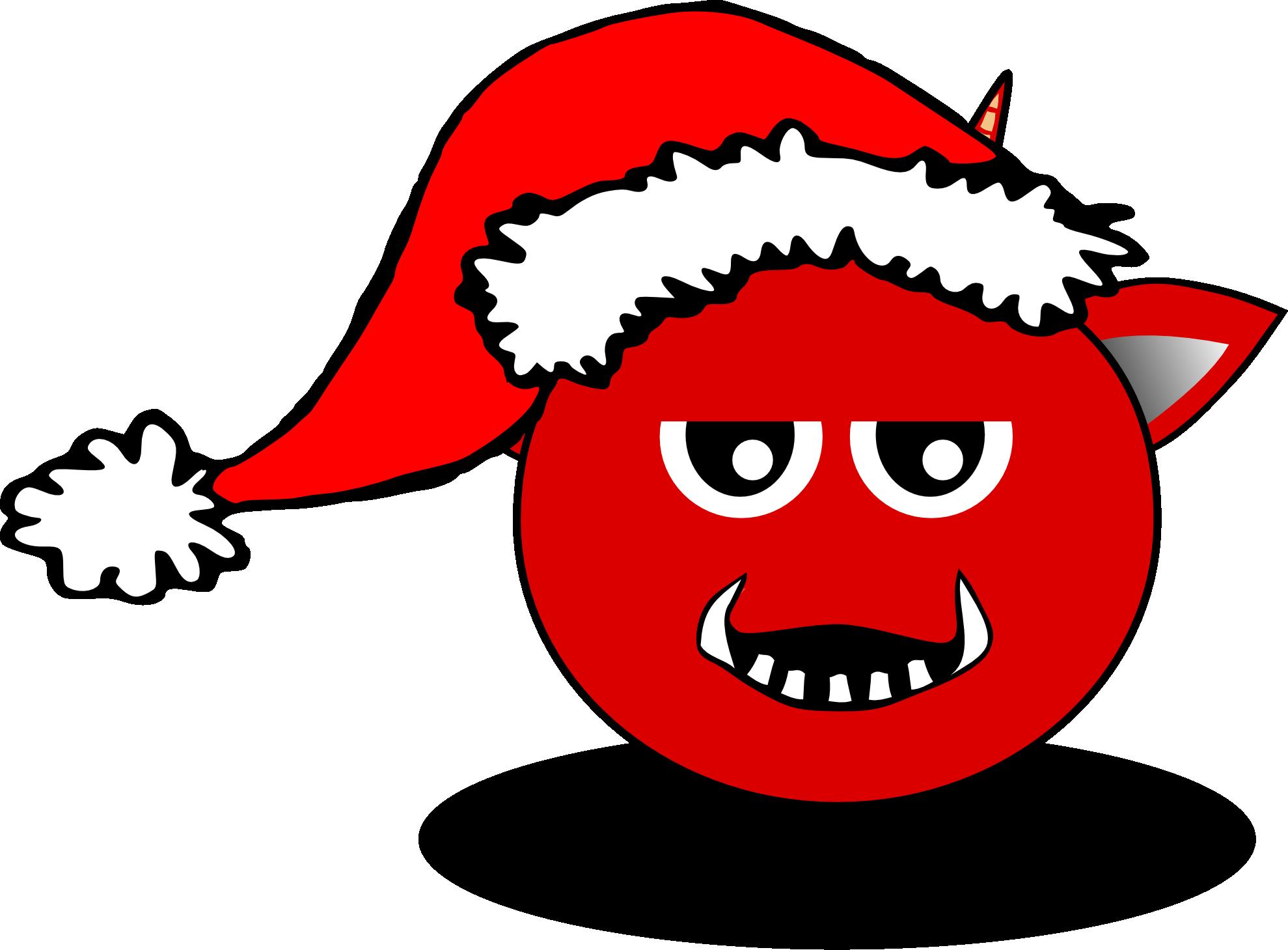 Devil clip art free. Mad clipart santa