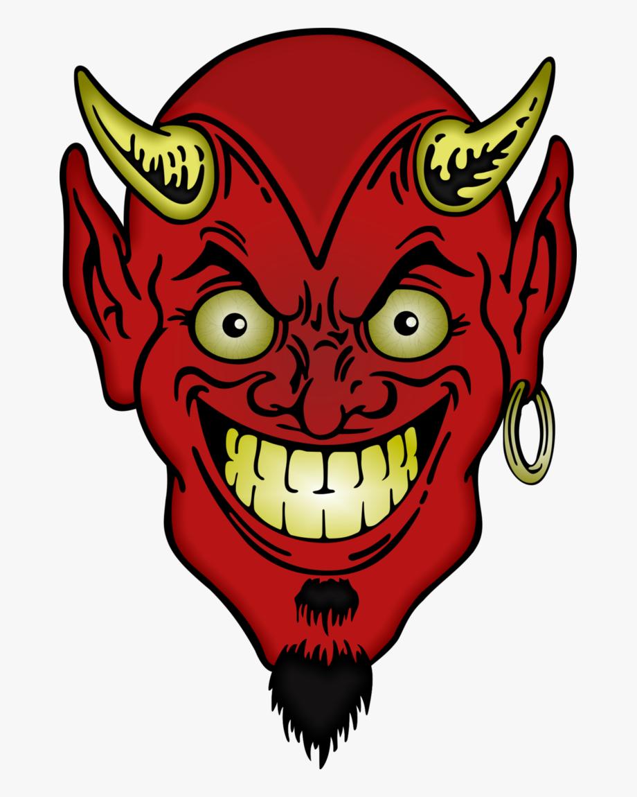 Devil clipart devil face. Evil png free cliparts