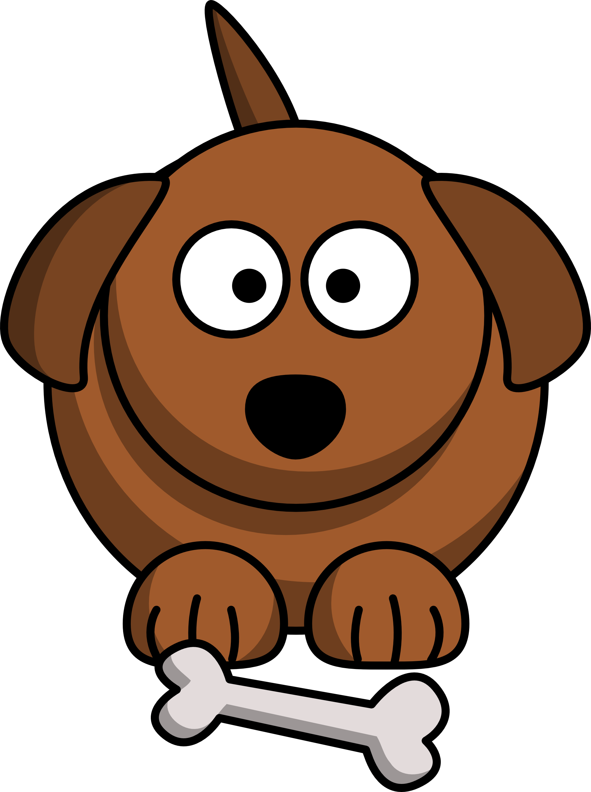 Dog cliparthot of provisions. Pet clipart aso