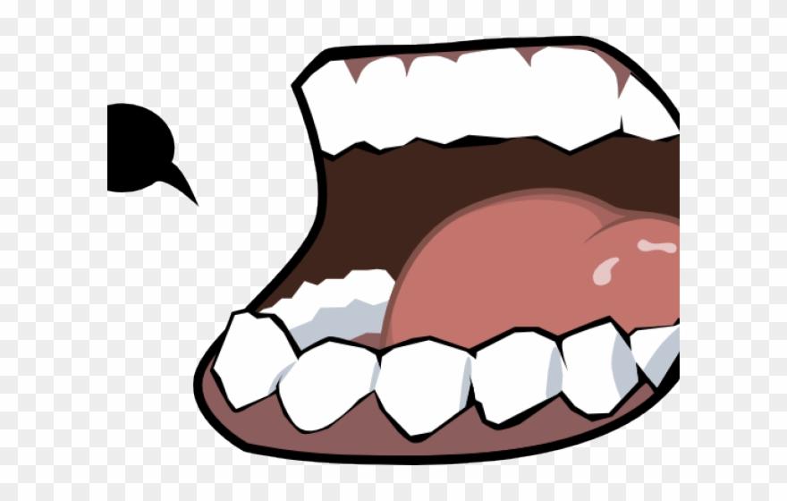 Cartoon lips clip art. Mouth clipart eating