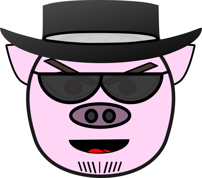 clipart pig mouth