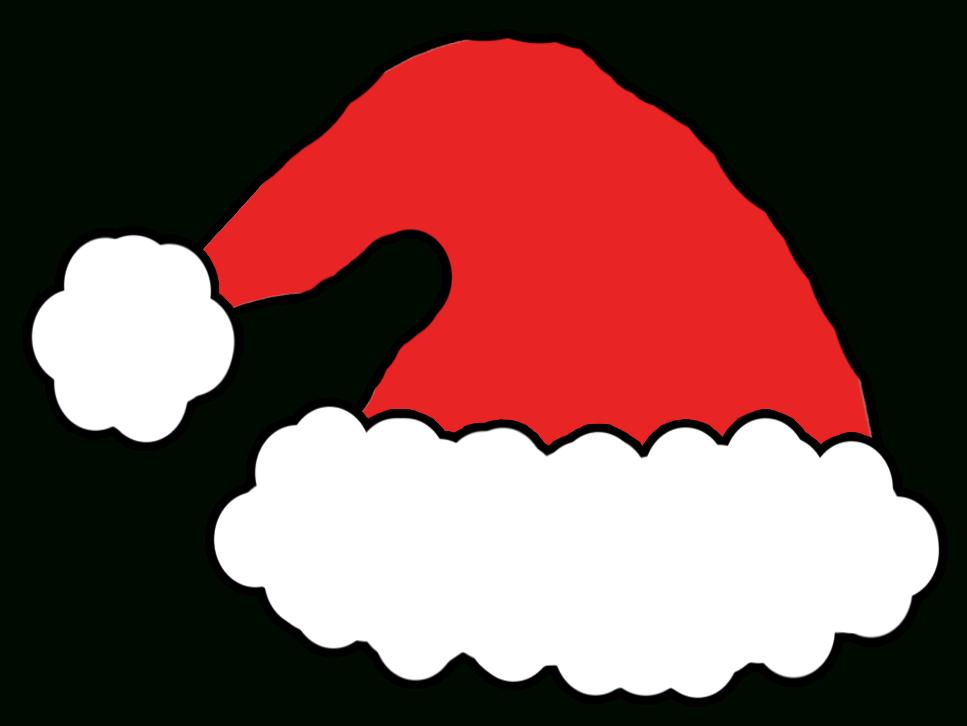 clipart santa outline