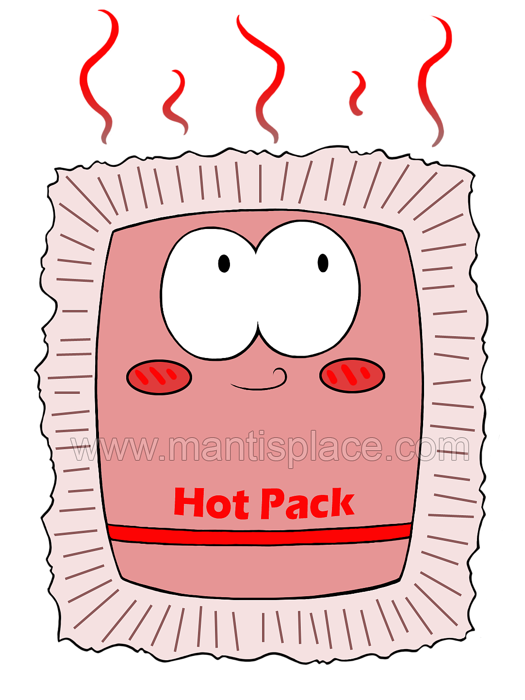 hour heat pack. Clipart mouth hand over