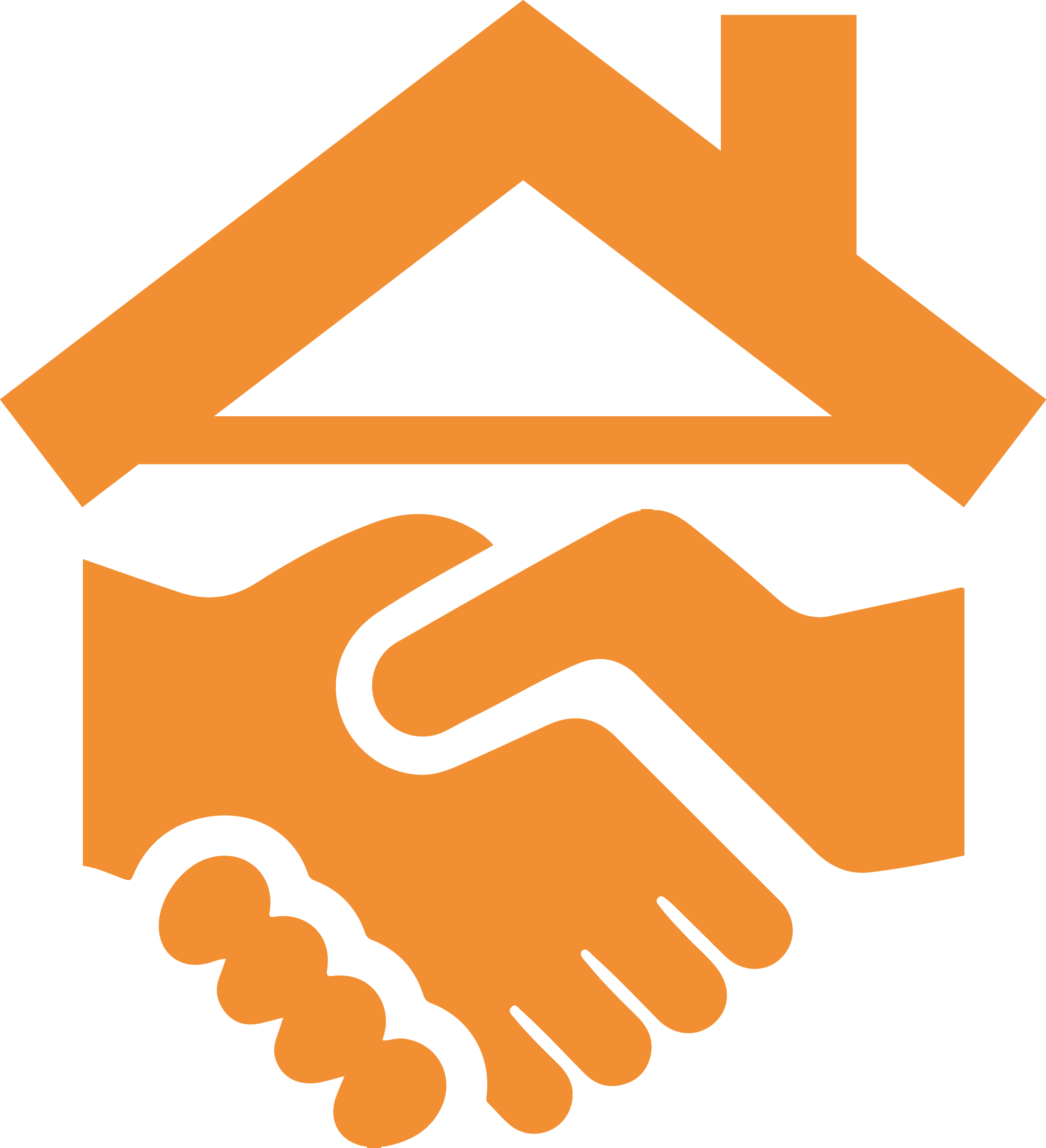 collection of handing. Clipart mouth hand over