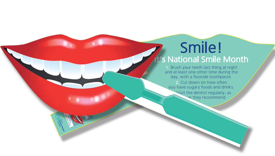 National smile month awareness. Clipart mouth healthy mouth