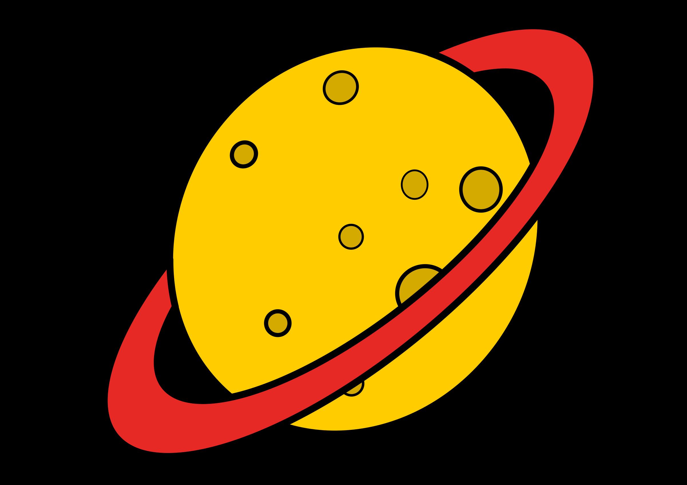 Planeten clipart adobe illustrator. Planet el espacio frames