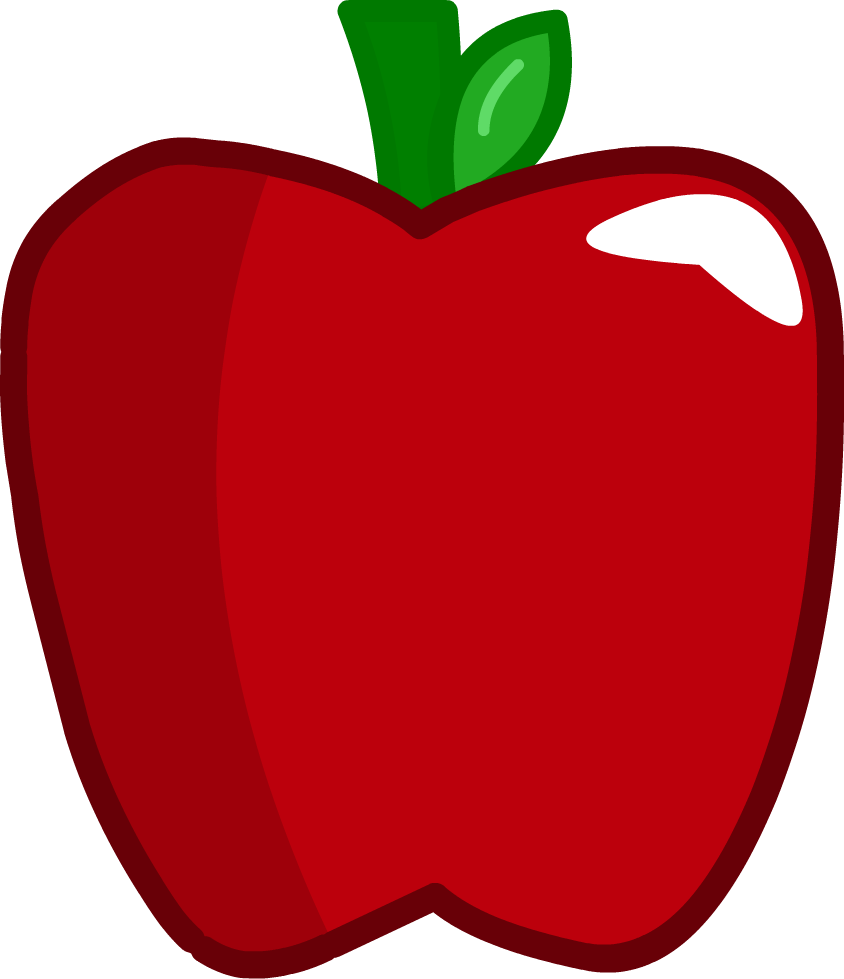 Image apple png assets. Clipart mouth inanimate insanity