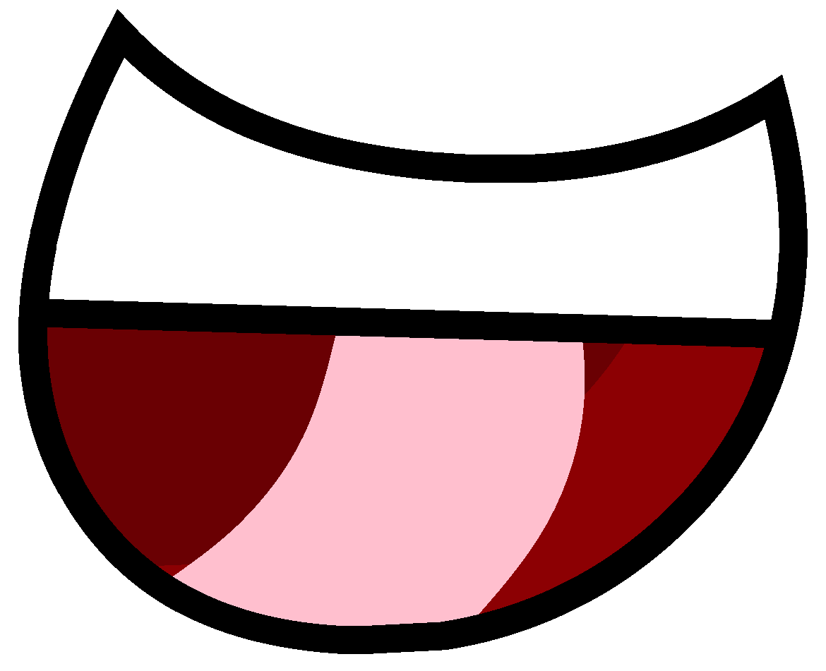 Clipart mouth inanimate insanity. Image big happy l