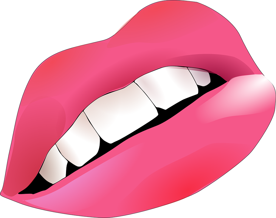 lips clipart clown