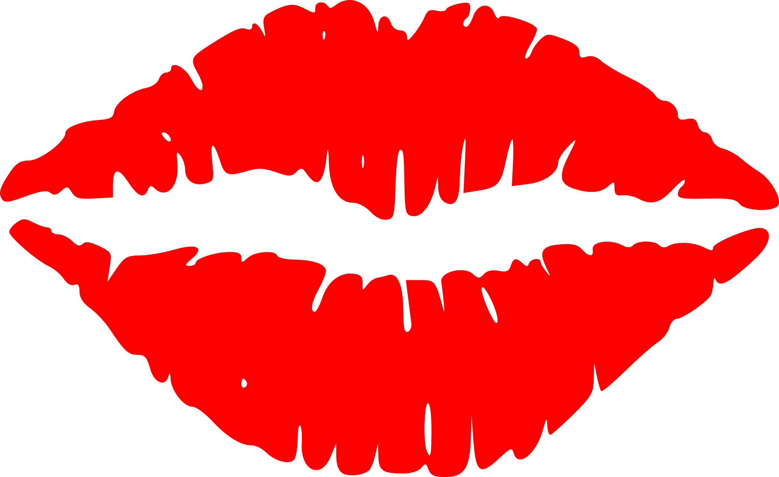 Lipstick clipart clear background. Lip mouth kiss clip
