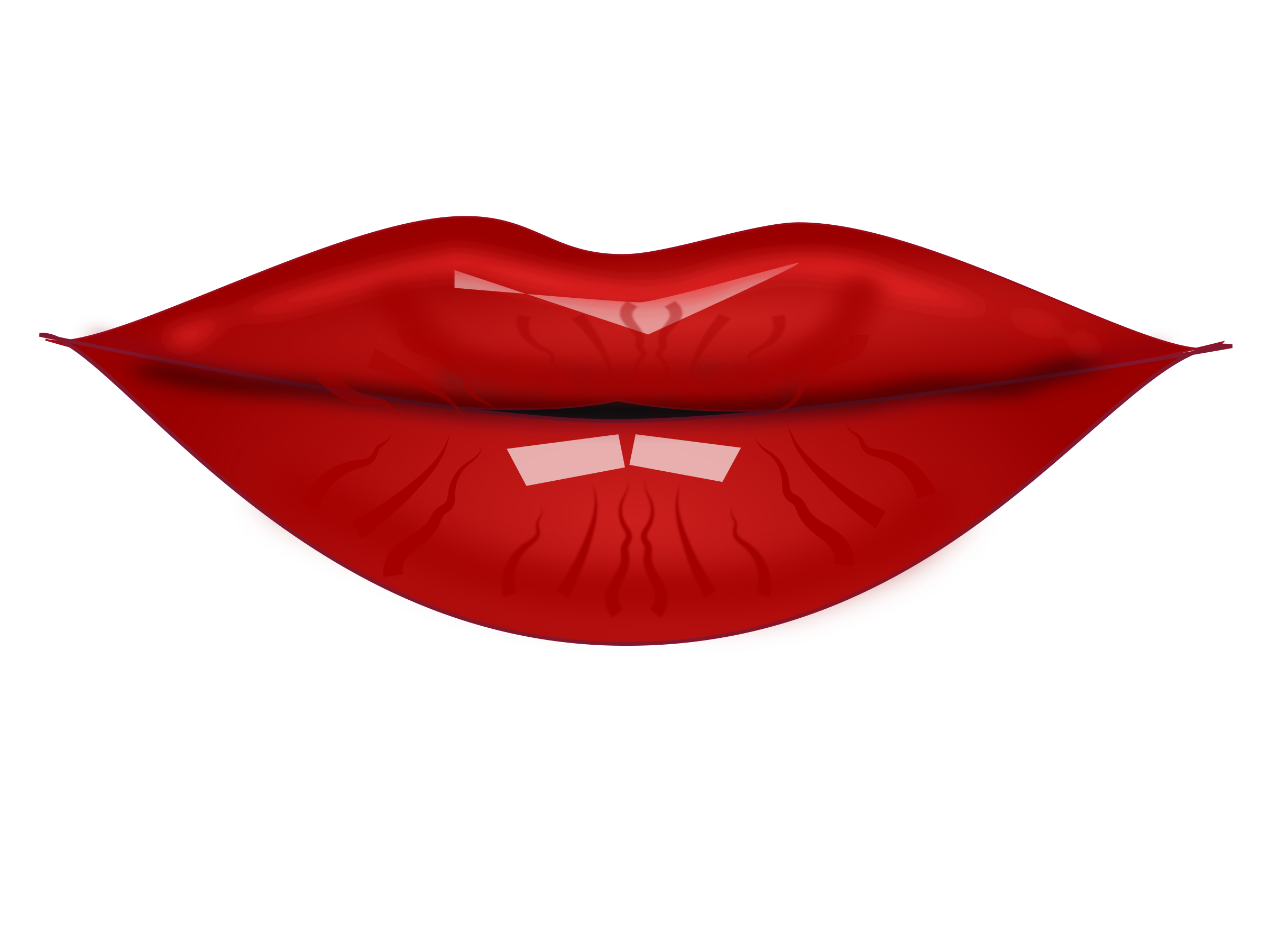 collection of mouth. Clipart mustache lipstick