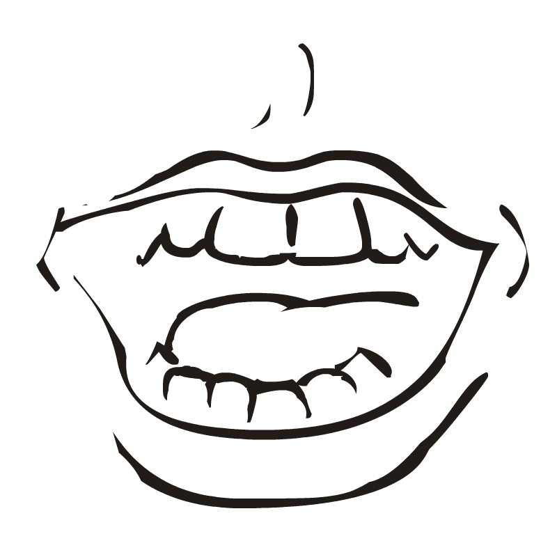 Free download clip art. Taste clipart mouth open