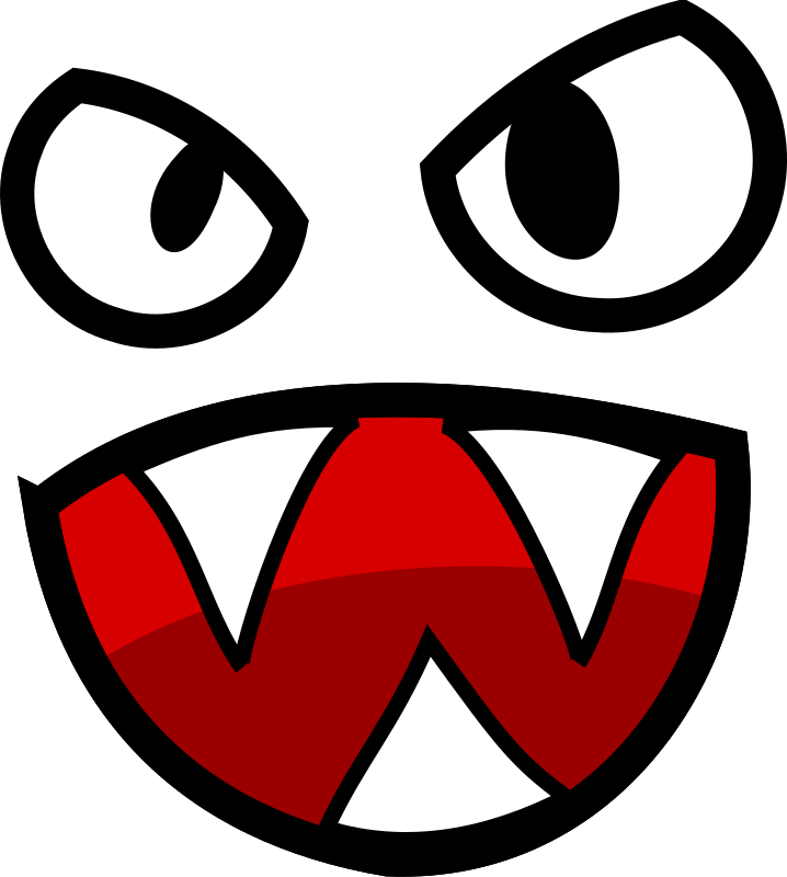 Tooth clipart angry.  collection of monster
