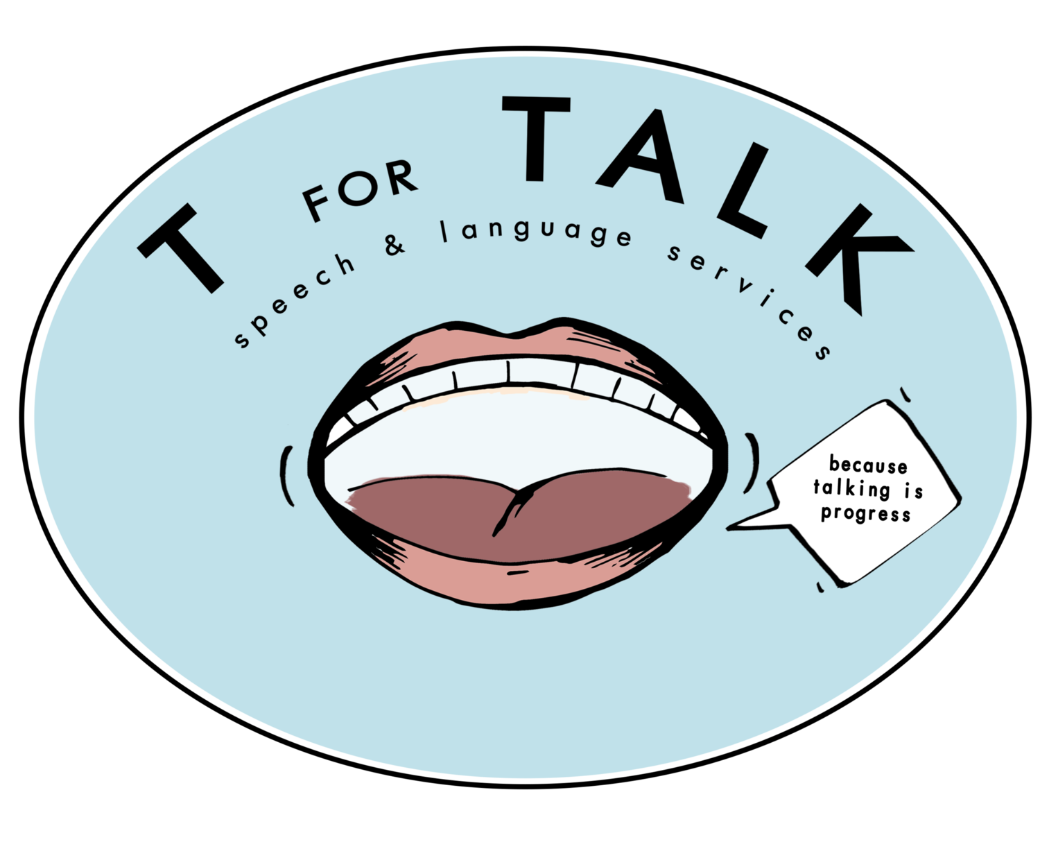 Clipart mouth mouth talk. T for speech language
