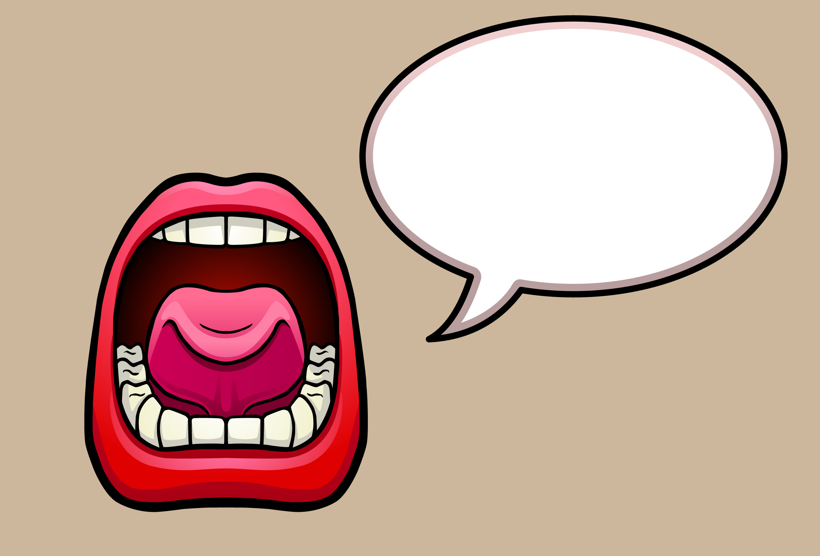 Clipart mouth mouth talk. Free talking cliparts download