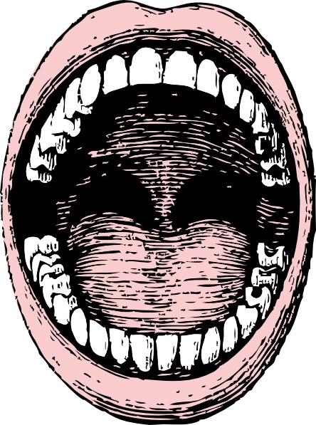Open clip art free. Clipart mouth opened mouth