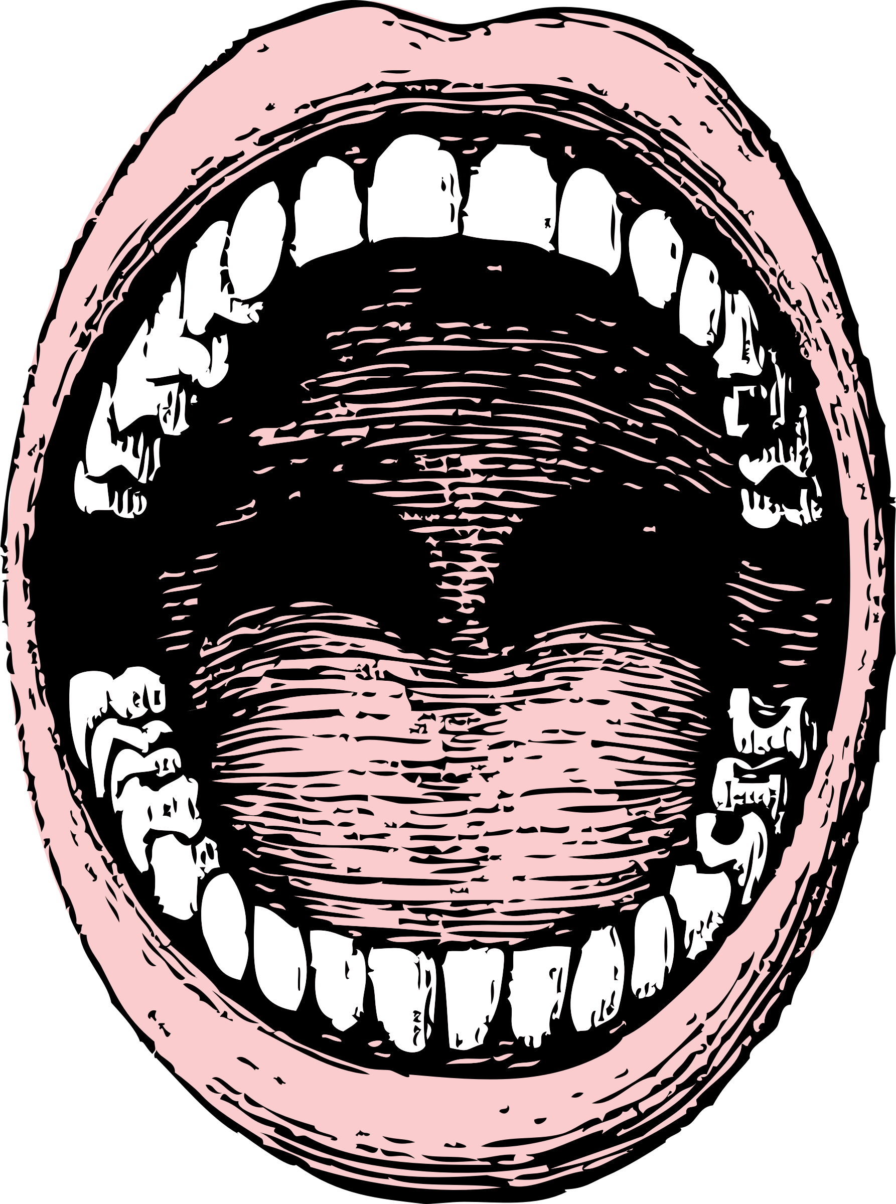 Open big image png. Clipart mouth opened mouth