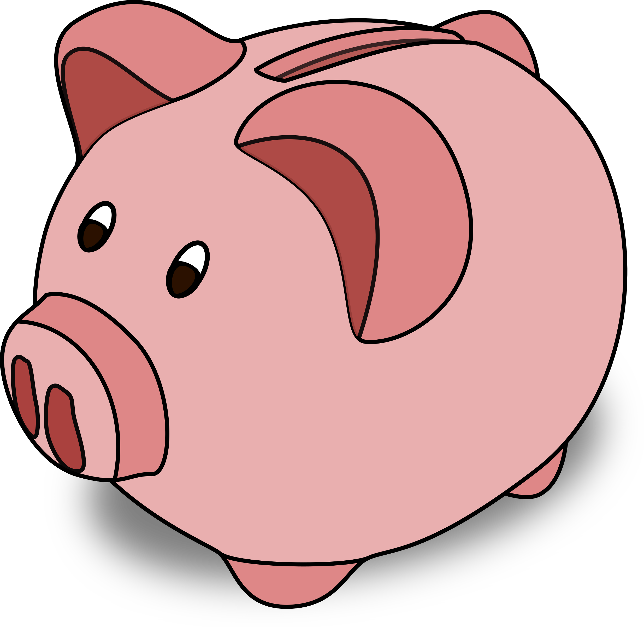 Clipart pig mouth. Cartoon big image png