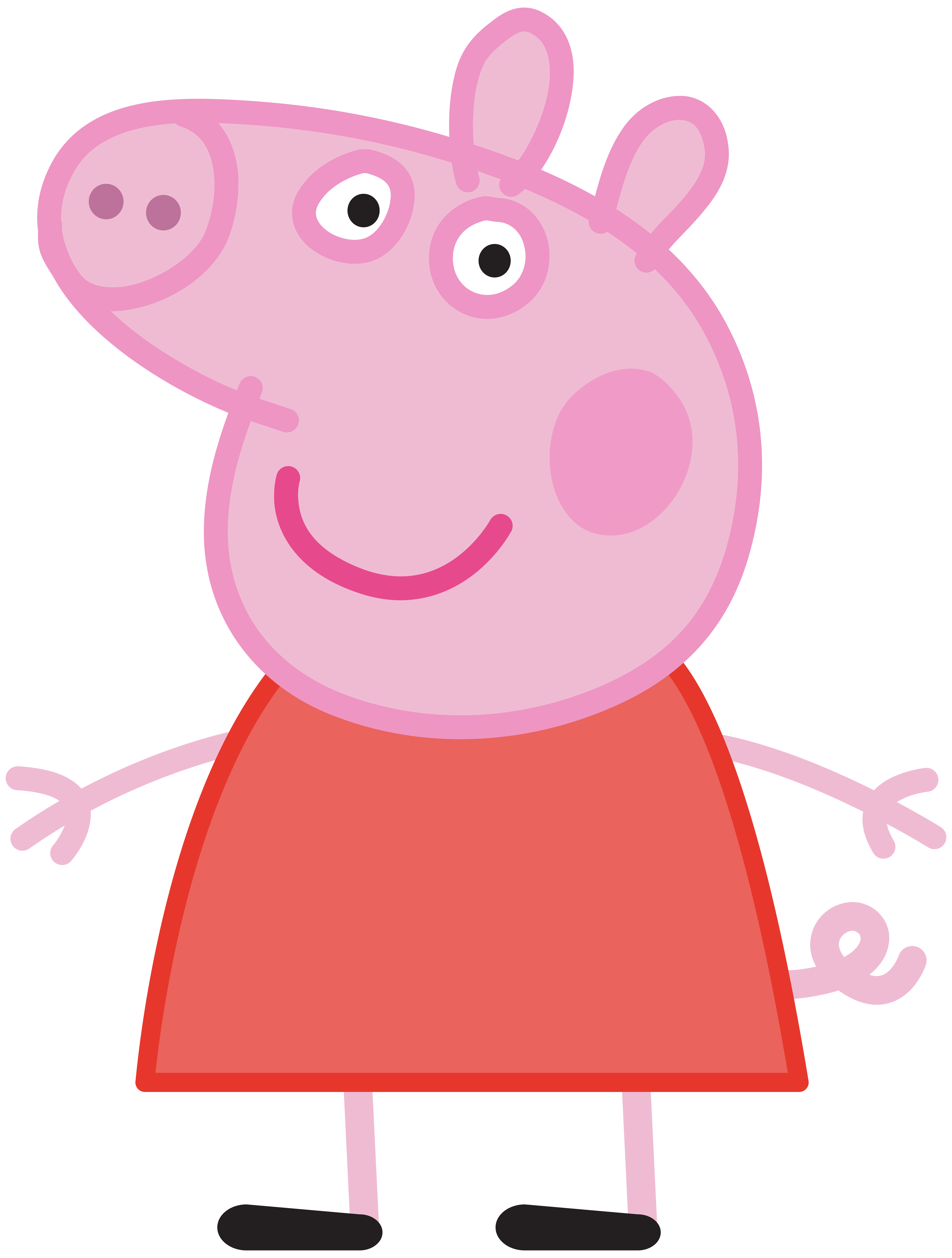 Pig clipart race. Peppa transparent png image