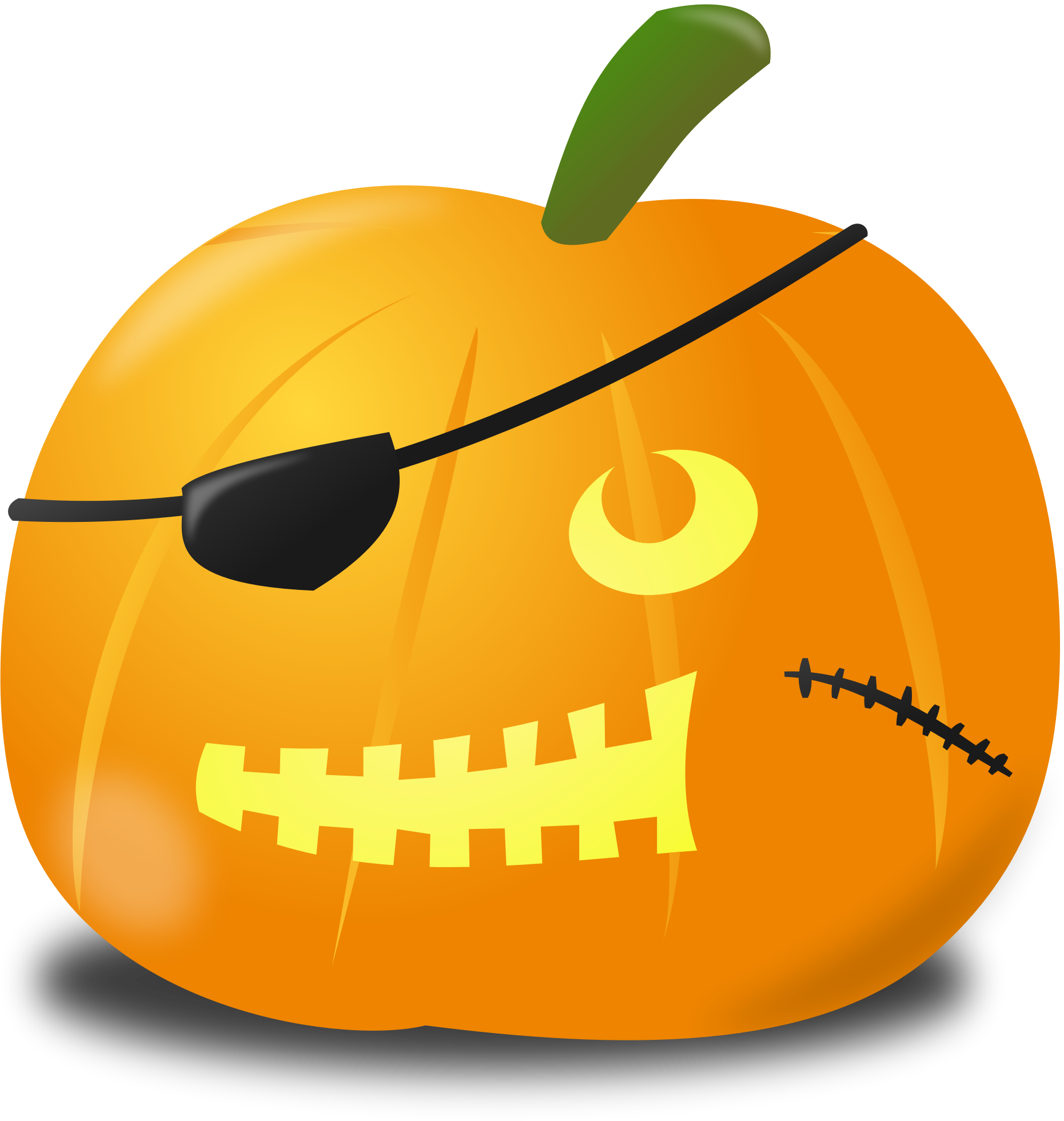 Pirate big image png. Mouth clipart pumpkin