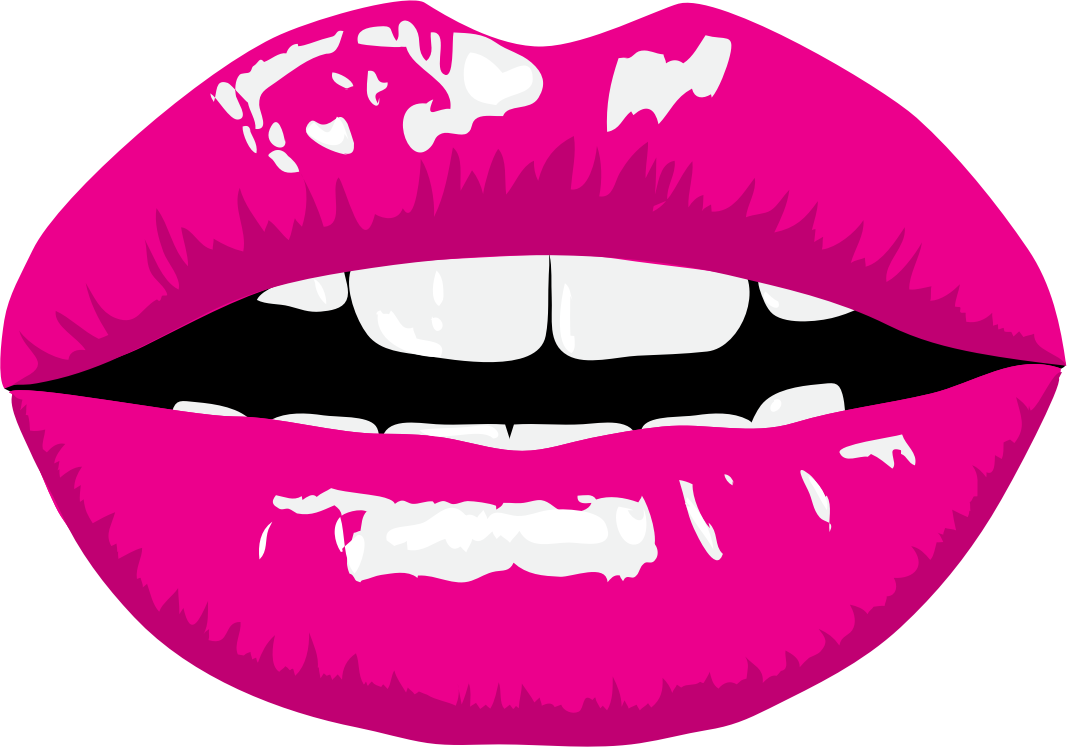 collection of lips. Clipart mustache lipstick
