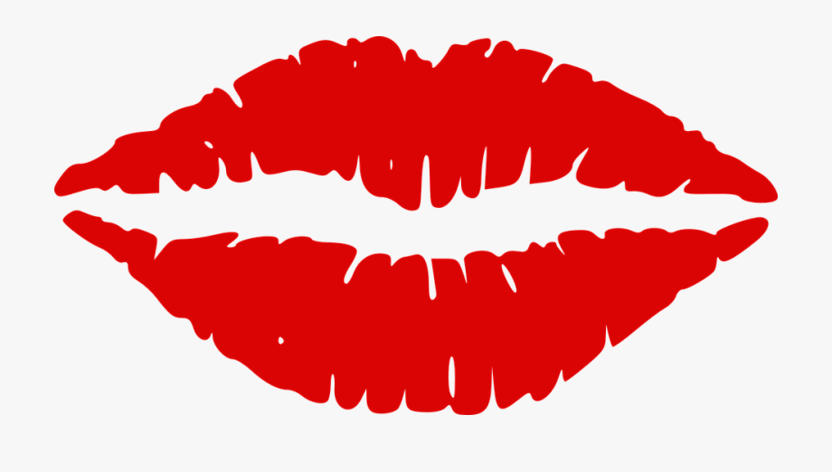 Lips kiss mouth red. Lip clipart juicy lip