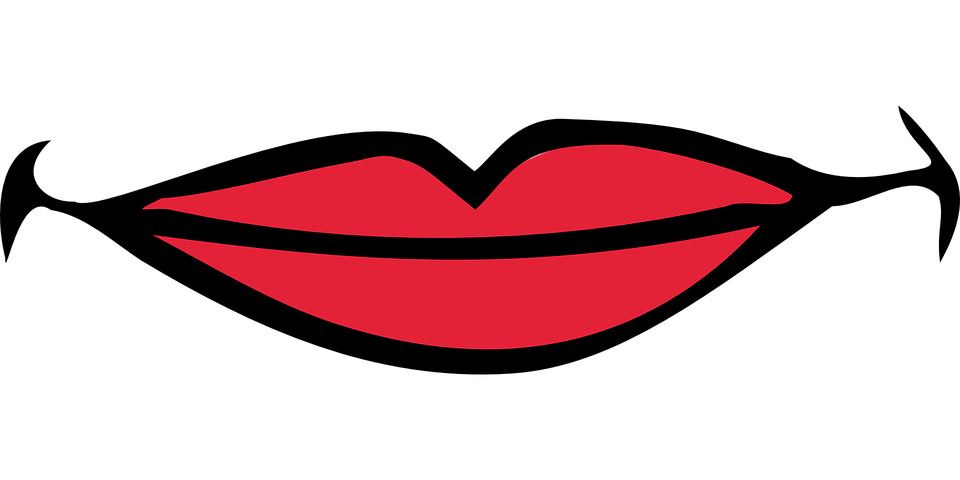 Smiling mouth shop of. Lips clipart quiet