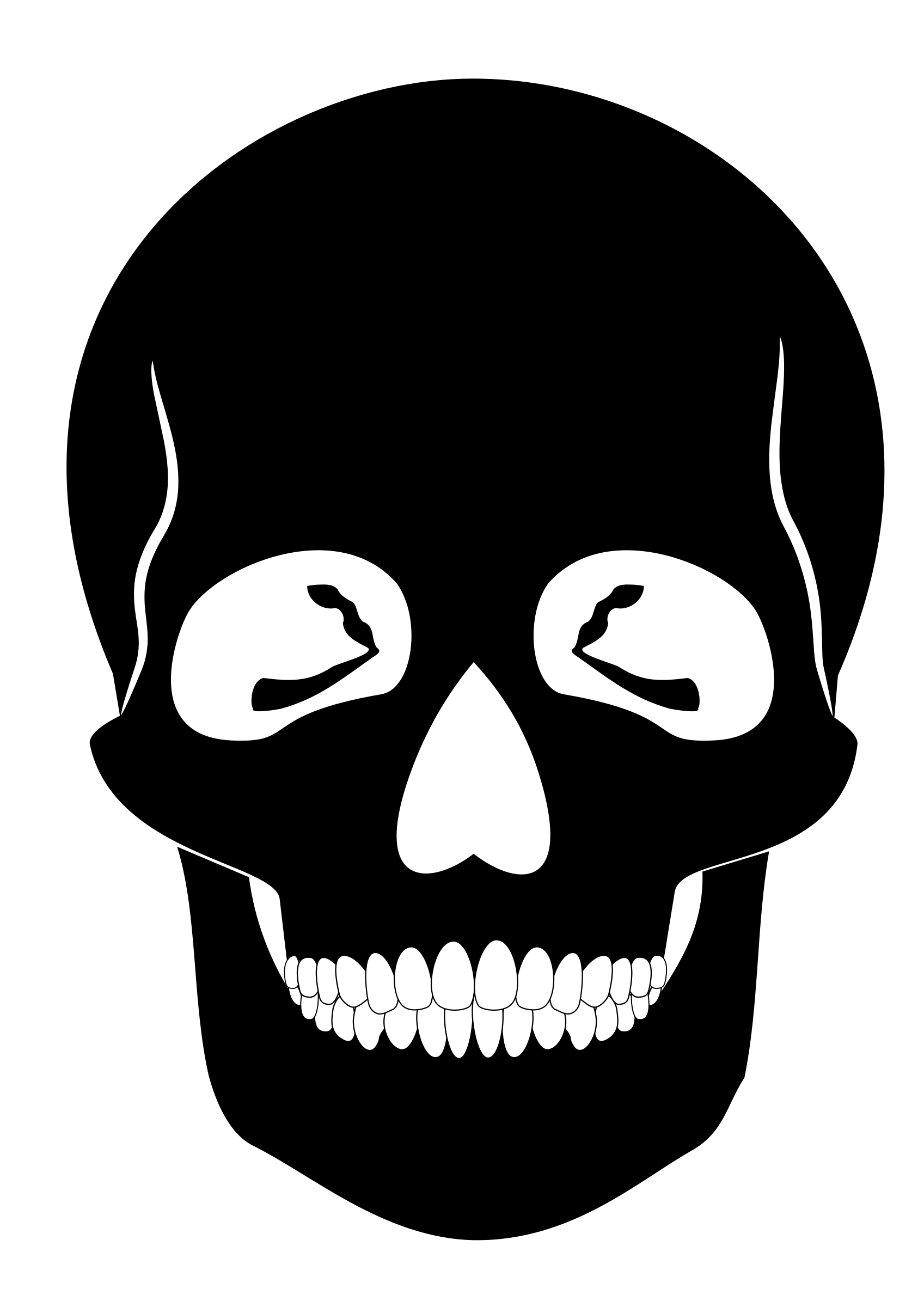 Mouth clipart skull. Big image png