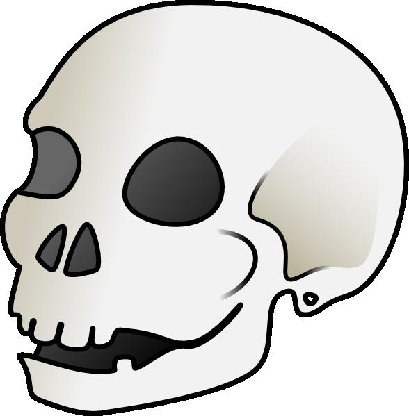 Clipart mouth skull. Cartoon clip art at
