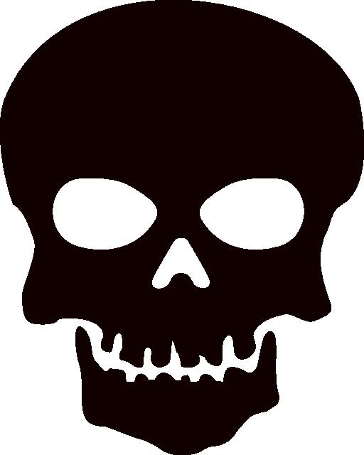 Halloween clipart skull. Clip art background panda