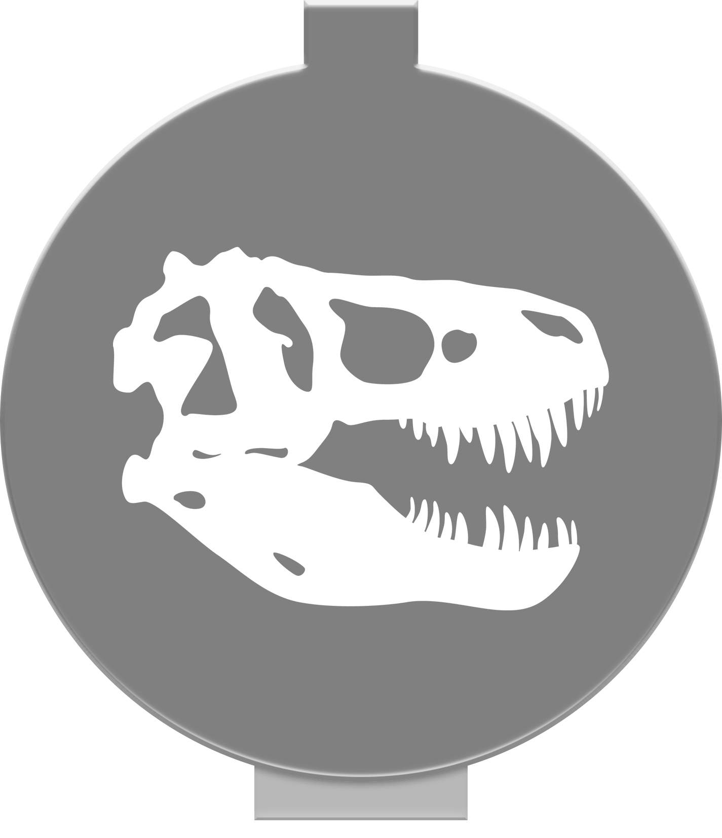 Trex clipart skull. T rex pbstickers