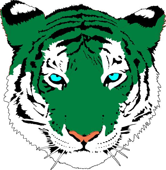 Bengal tiger clip art. Tiki clipart fierce