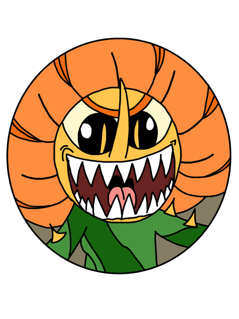 Cagney carnation death icon. Clipart mouth toothy grin