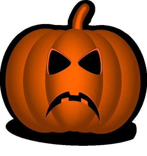 Sad clip art at. Clipart smile pumpkin