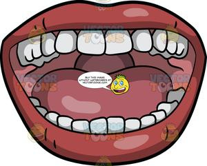 Clipart mouth wide open mouth. A