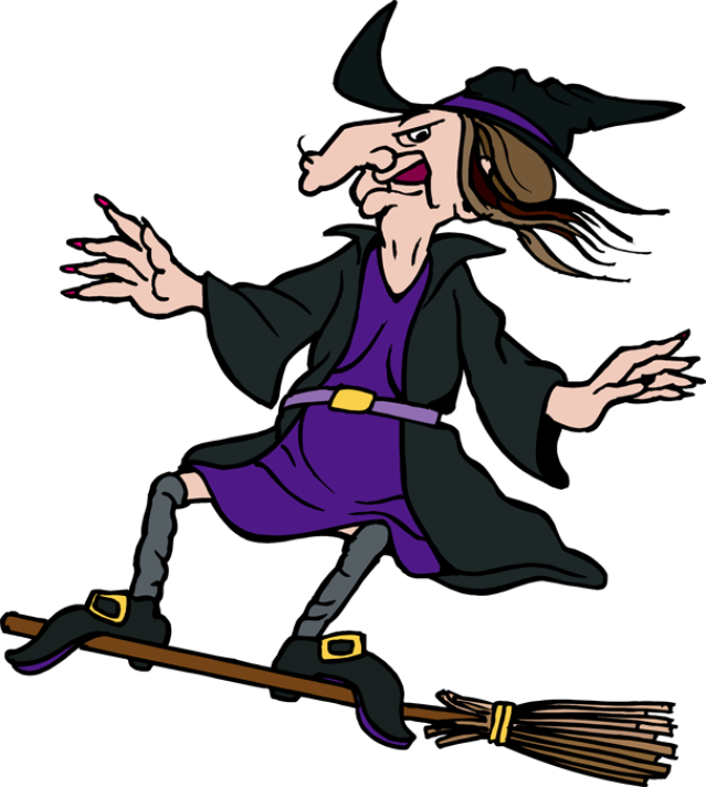 Mop witch broomstick