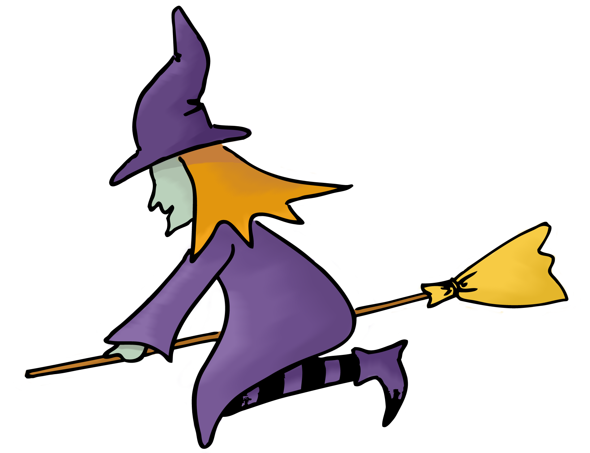 Witch clipart childrens.  collection of a