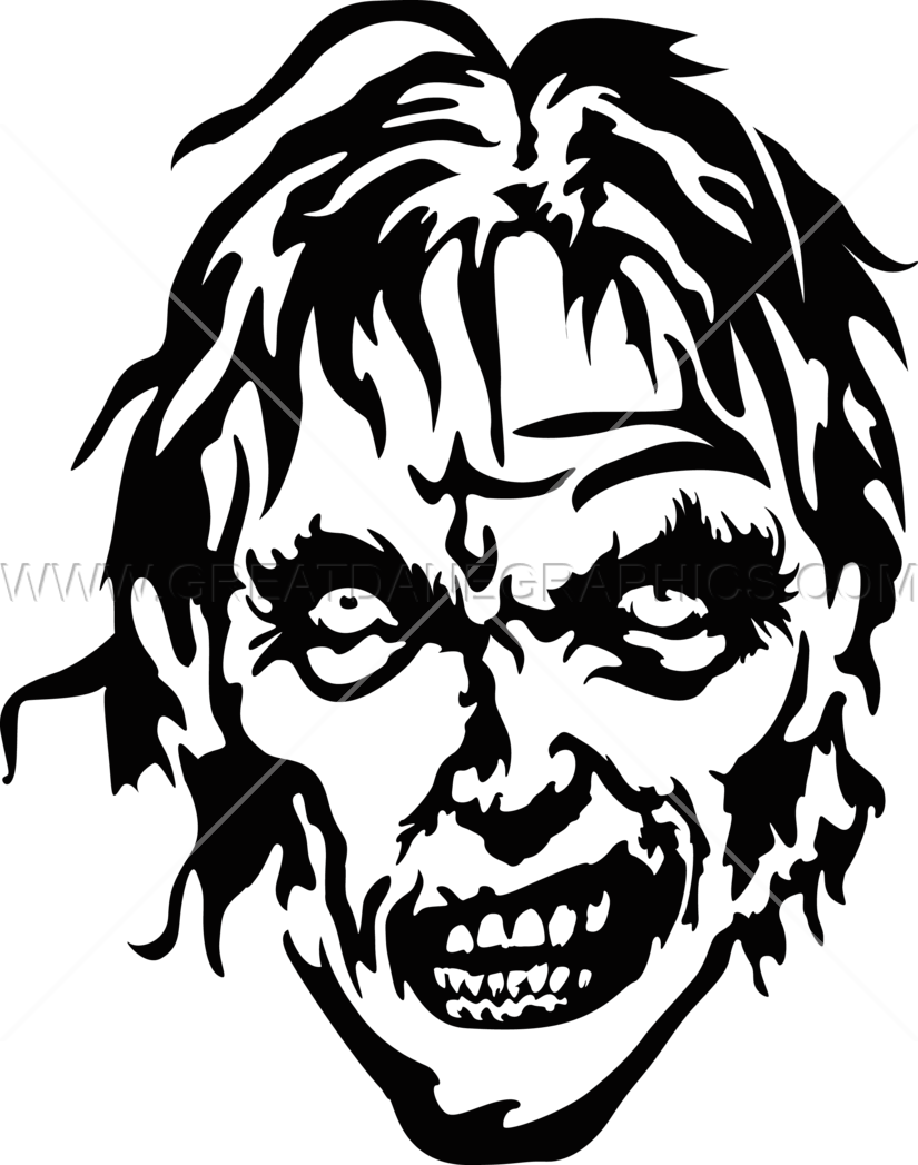 Head drawing at getdrawings. Zombie clipart zombie woman