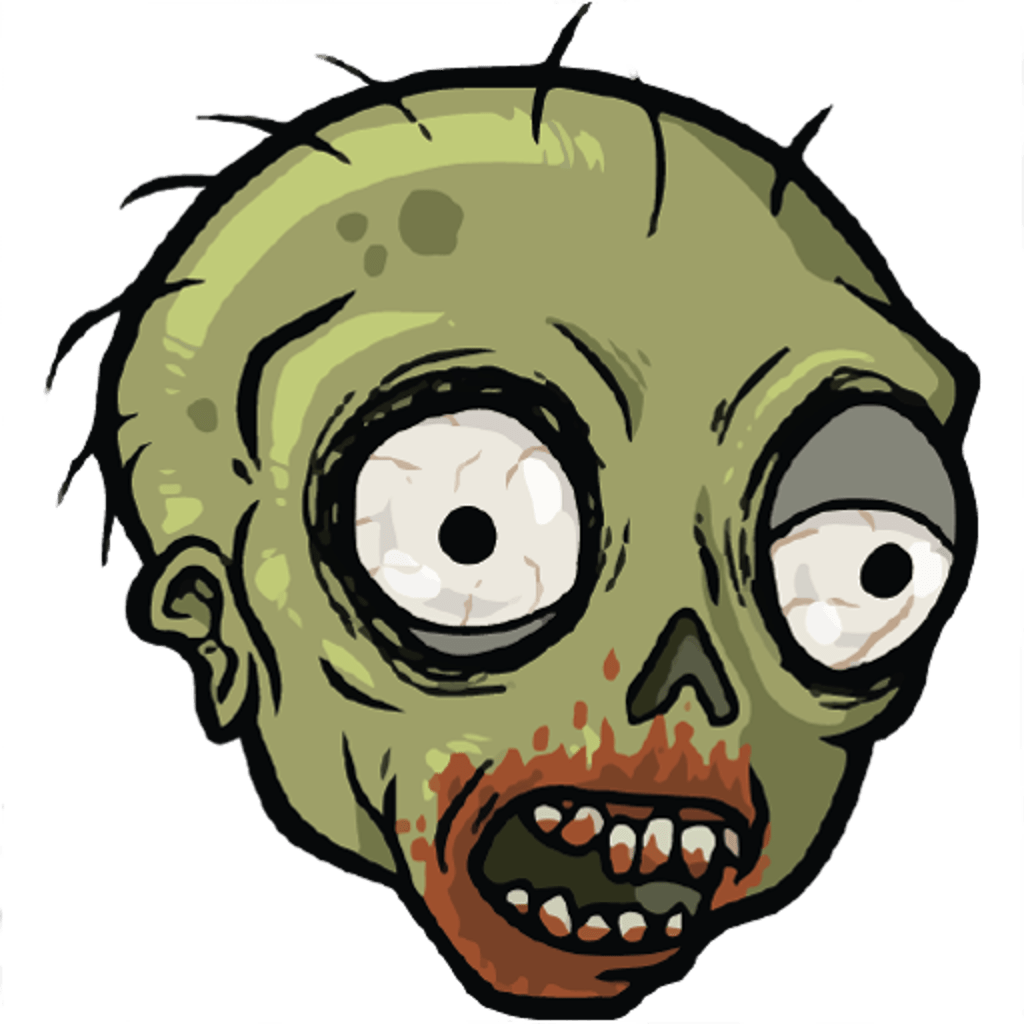 Zombie clipart zombie woman. Icon from smasher defense