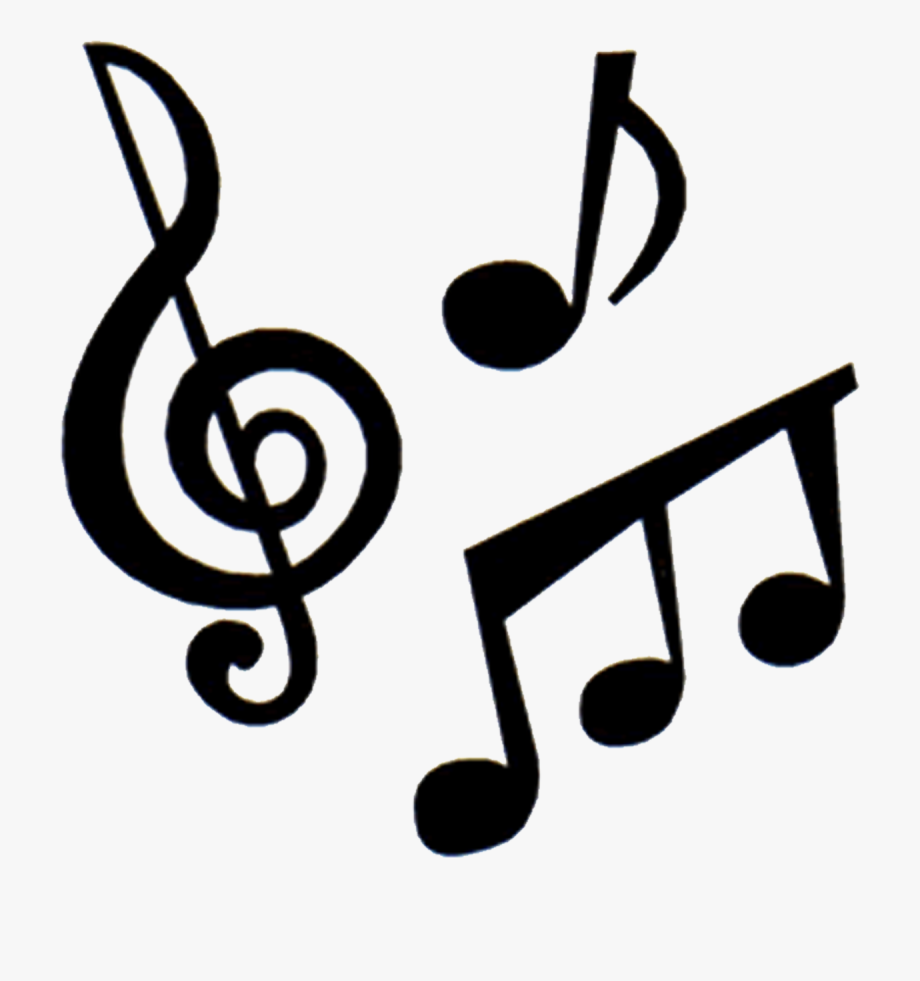 Instruments and notes . Clipart music