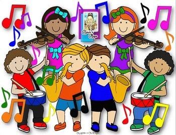 Clip art joyful noise. Clipart music