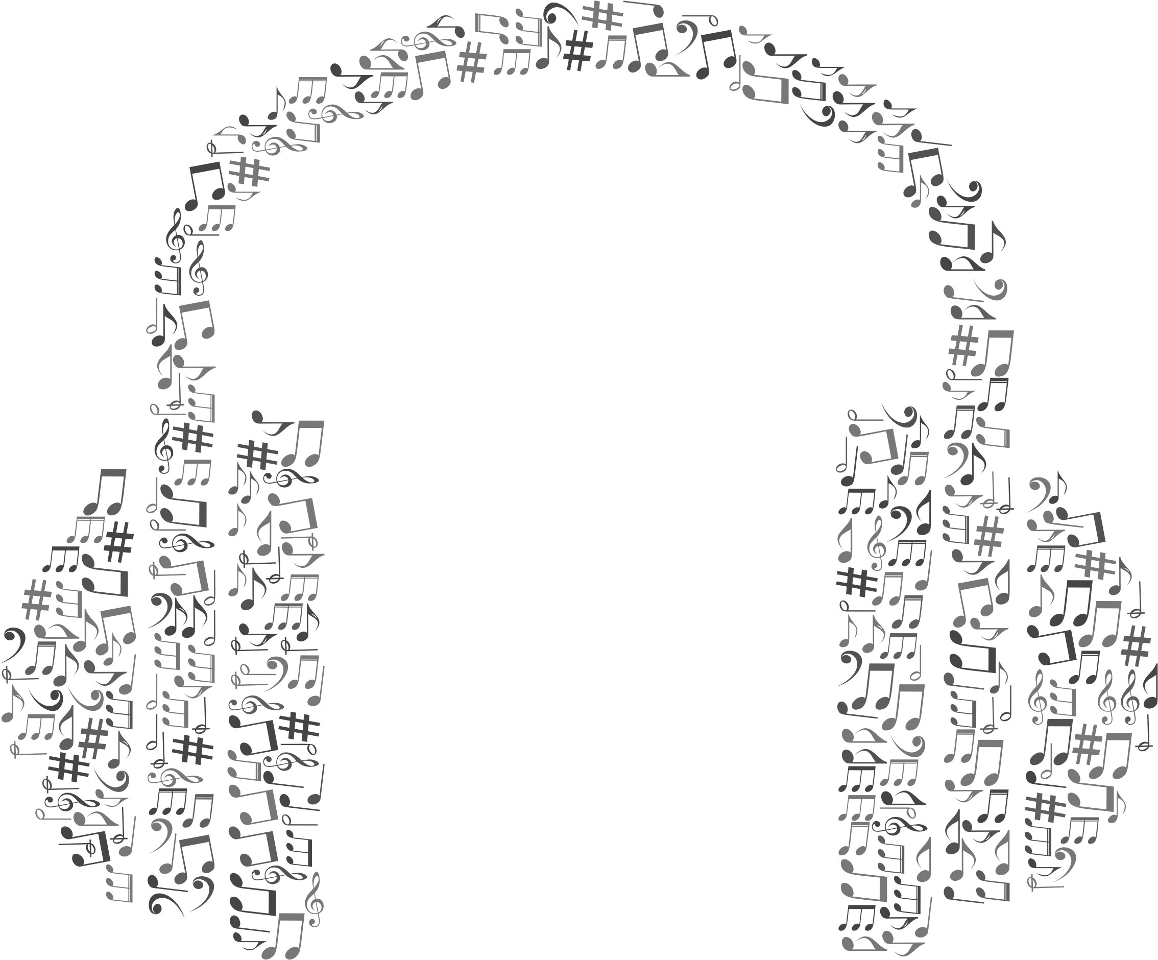 clipart music abstract