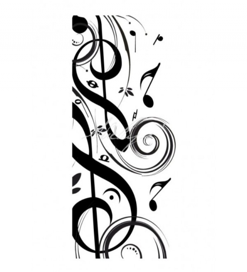 Free musical notes download. Clipart music art deco