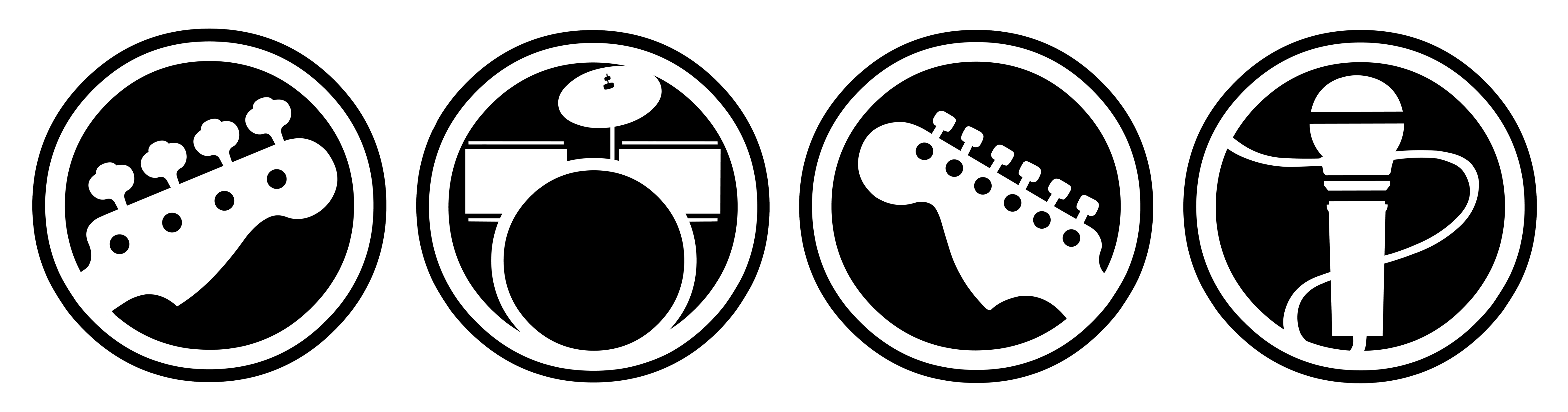 Wheel clipart rock.  collection of band
