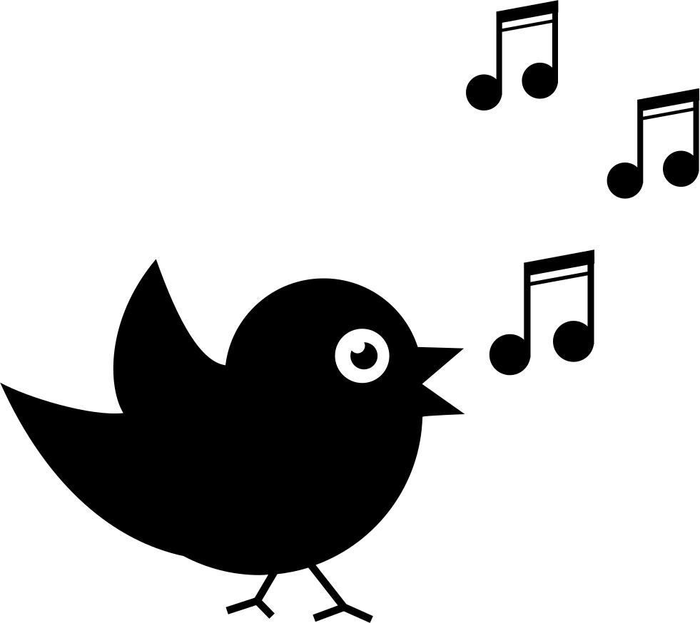 musical clipart bird